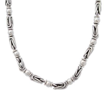 Sterling Silver .925 Chain Necklace from Mexico