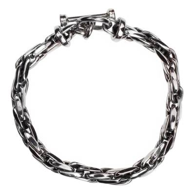 Fair Trade Sterling Silver Chain Link Bracelet from Mexico