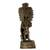 Ceramic statuette, 'Maya Lord Chaac' - Maya God of Rain Ceramic Statuette Crafted by Hand (image 2d) thumbail