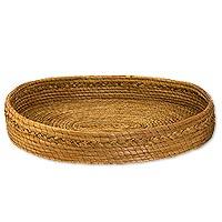 Pine needle basket,