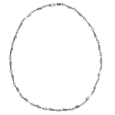 Sterling Silver Artisan Crafted Necklace from Mexico