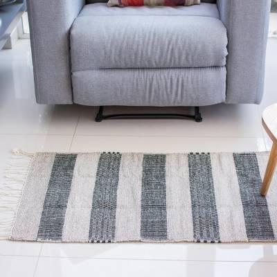 Zapotec wool rug, 'Desert Shadows' (2x3) - Handwoven Authentic Zapotec Accent Rug in Browns (2 x 3)