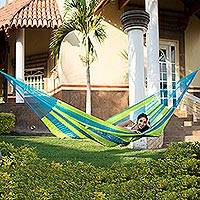 Hammock Fluorescent Tropics single Mexico