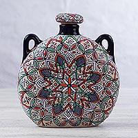 Ceramic bottle,