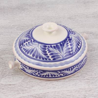 Ceramic salsa bowl, Taste of Mexico (6.5 inch)