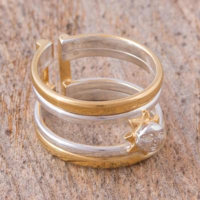 Pandora Silver Knot Ring Compressor Gold Crown Pandora Ring Holder