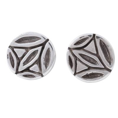 Sterling Silver Cufflinks from Mexico