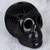 Ceramic sculpture, 'Death and Life' - Barro Negro Ceramic Skull Sculpture from Mexico thumbail