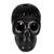 Ceramic sculpture, 'Death and Life' - Barro Negro Ceramic Skull Sculpture from Mexico (image 2a) thumbail