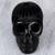 Ceramic sculpture, 'Death and Life' - Barro Negro Ceramic Skull Sculpture from Mexico (image 2b) thumbail