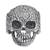 Sterling silver dome ring, 'Skull of Life' - Sterling Silver Skull Ring from Mexico (image 2a) thumbail