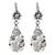 Cultured pearl dangle earrings, 'Pearls in the Wind' - Cultured Pearl and Sterling Silver Teardrop Dangle Earrings (image 2a) thumbail