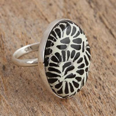 90% silver coin ring hole
