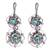 Sterling silver filigree dangle earrings, 'Nested Flowers' - Sterling Silver Filigree Floral Dangle Earrings (image 2a) thumbail