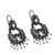 Cultured pearl filigree dangle earrings, 'In the Beginning' - Spiral Motif Cultured Pearl Filigree Earrings from Mexico (image 2c) thumbail