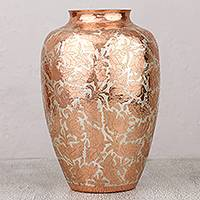 Featured review for Copper decorative vase, Shining Glory