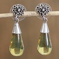 Featured review for Amethyst dangle earrings, Lovely Nectar
