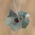 Agate pendant necklace, 'Vine' - Leaf Motif Agate Pendant Necklace from Mexico thumbail