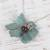 Agate pendant necklace, 'Vine' - Leaf Motif Agate Pendant Necklace from Mexico (image 2b) thumbail