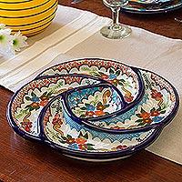 Ceramic appetizer dish,