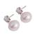 Cultured pearl dangle earrings, 'Enchantments of the Sea' - Cultured Freshwater Pearl Sterling Silver Dangle Earrings (image 2c) thumbail