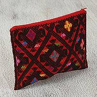 Cotton cosmetic bag,