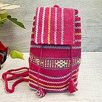 Cotton mini backpack,
