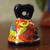 Ceramic bell, 'Ringing Talavera' - Hand-Painted Talavera-Style Ceramic Bell from Mexico (image 2b) thumbail