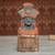 Ceramic sculpture, 'Mighty Tlaloc' - Rustic Ceramic Sculpture of Tlaloc from Mexico thumbail