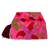Cotton blend clutch, 'Tropical Blooms' - Fuchsia Floral Embroidered Floral Motif Cotton Blend Clutch (image 2b) thumbail
