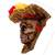 Recycled papier mache mask, 'Elegant Catrina' - Recycled Papier Mache Catrina Mask Crafted in Mexico (image 2b) thumbail