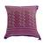 Cotton cushion covers, 'Purple Maya Geometry' (pair) - 2 Backstrap Loom Woven Colorful Purple Cotton Cushion Covers (image 2b) thumbail