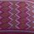 Cotton cushion covers, 'Purple Maya Geometry' (pair) - 2 Backstrap Loom Woven Colorful Purple Cotton Cushion Covers (image 2d) thumbail