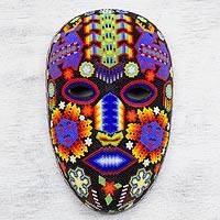 Featured review for Beaded mask, Blue Deer with Corn