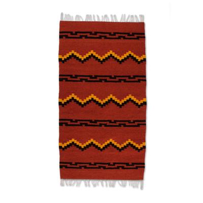 Zapotec woo rug (3x5)
