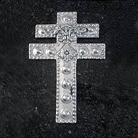 Aluminum cross,