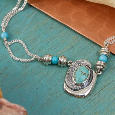 Necklace, 'Spirit Love' - Necklace
