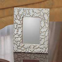 Aluminum picture frame Leaves 4x6 Mexico