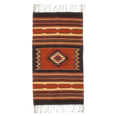 Zapotec Wool Area Rug (2x3)