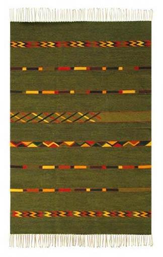 Zapotec wool rug (4x6)