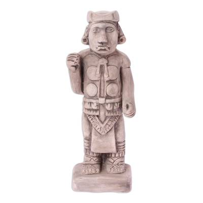Aztec Archaeological Replica Ceramic Sculpture