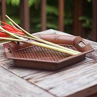 Bamboo tray,