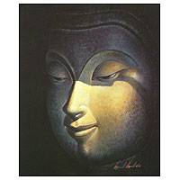 'The Eyes of Merit' - Thai Buddha Painting