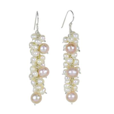 Fair Trade Pearl Earrings