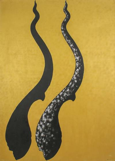 'Cho Fa Crown I' (2005) - Surrealist Acrylic Painting