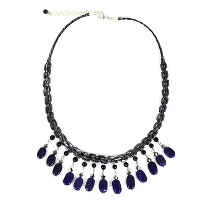 Lapis Lazuli Choker Necklace