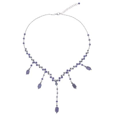 Thai Beaded Lapis Lazuli Necklace