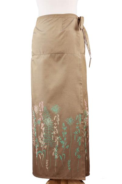 Silk and cotton sarong