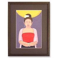 'My Happiness' - Original Thai Painting
