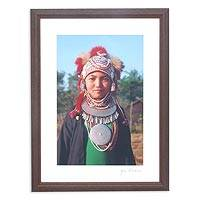'Young Thai Akha Girl'